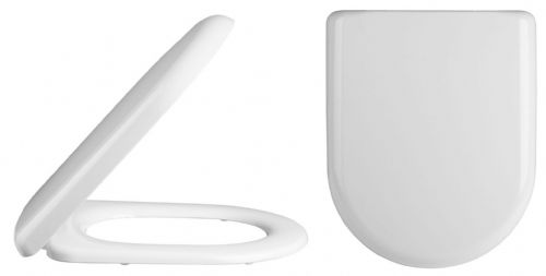 D Shaped Soft Close Toilet Seat                 NTS002